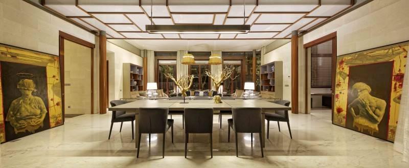 Foto inspirasi ide desain ruang makan Dining room oleh Atelier Cosmas Gozali di Arsitag