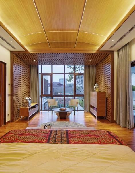 Foto inspirasi ide desain kamar tidur Bedroom oleh Atelier Cosmas Gozali di Arsitag
