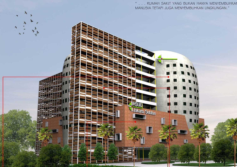 Atelier Cosmas Gozali South Jakarta Goverment Hospital Competition Jakarta Jakarta Perspektif2 Modern 23631