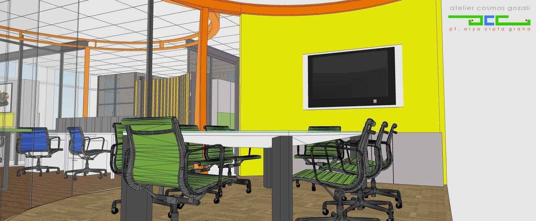 Foto inspirasi ide desain ruang meeting industrial Ruang meeting oleh Atelier Cosmas Gozali di Arsitag