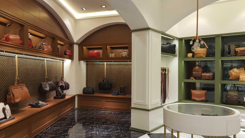 Foto inspirasi ide desain display area klasik Inside the store oleh Atelier Cosmas Gozali di Arsitag