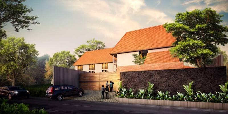 Foto inspirasi ide desain apartemen Front-view-2 oleh Atelier Prapanca di Arsitag