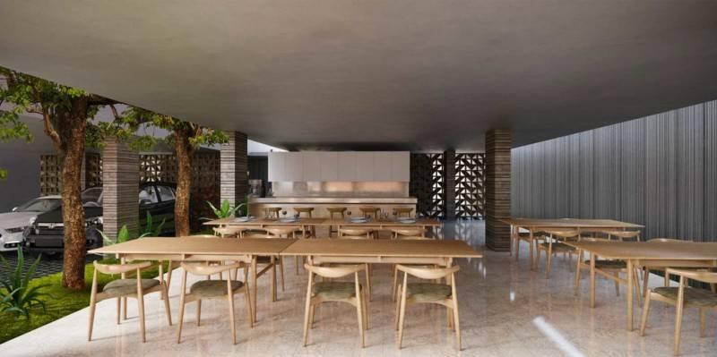 Atelier Prapanca Service Apartment Yogyakarta, Indonesia Yogyakarta, Indonesia Restaurant Minimalis 7597