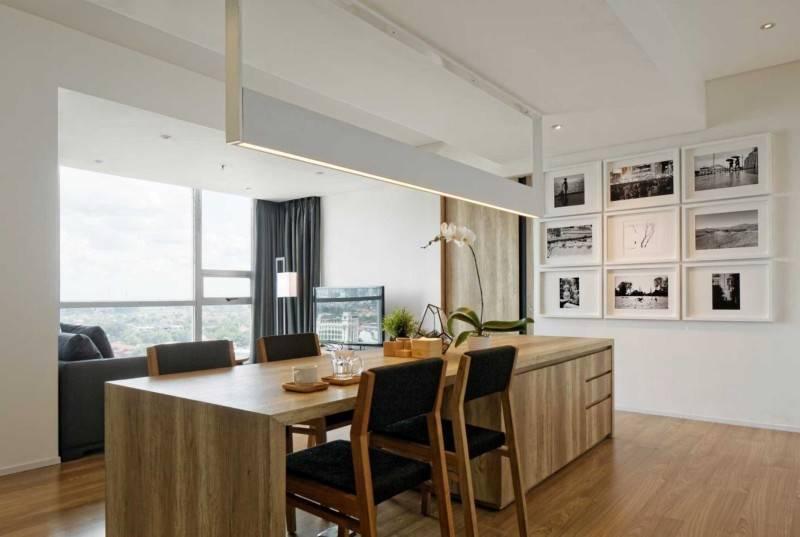 Atelier Prapanca Apartment At Kemang Jakarta Jakarta Dining Table Minimalis,glass,modern 7539