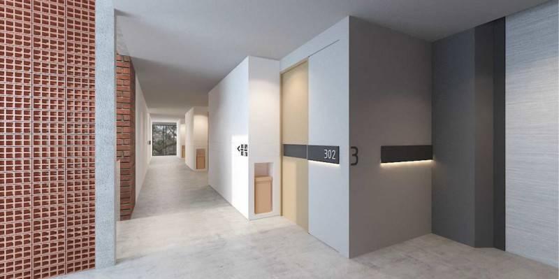 Foto inspirasi ide desain apartemen Corridor oleh Atelier Prapanca di Arsitag