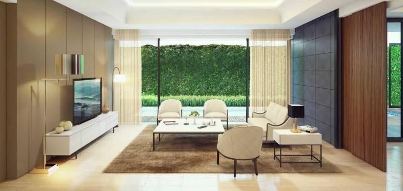 Foto inspirasi ide desain rumah kontemporer Livingroom oleh Atelier Prapanca di Arsitag
