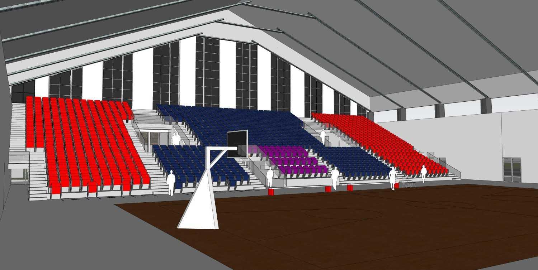 Atelier Prapanca Basketball Stadium, Senayan Senayan, Jakarta Senayan, Jakarta Interior  25093