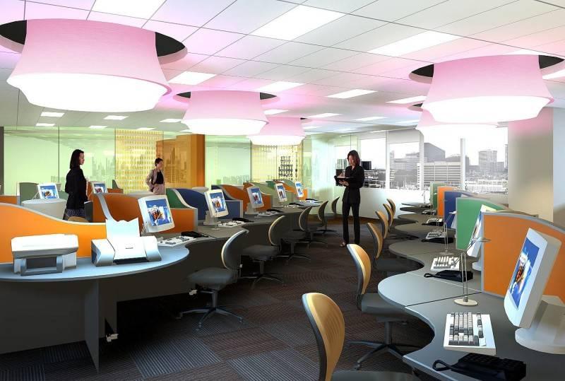 Ai Associates Office Interior Design Jakarta; Kuala Lumpur; Singapore; Japan Jakarta; Kuala Lumpur; Singapore; Japan Nagasaki Perspective-Call Centre; Japan  2389
