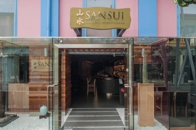 Ai Associates Restaurant At Singapore  Singapore Singapore Sansui-1  2415