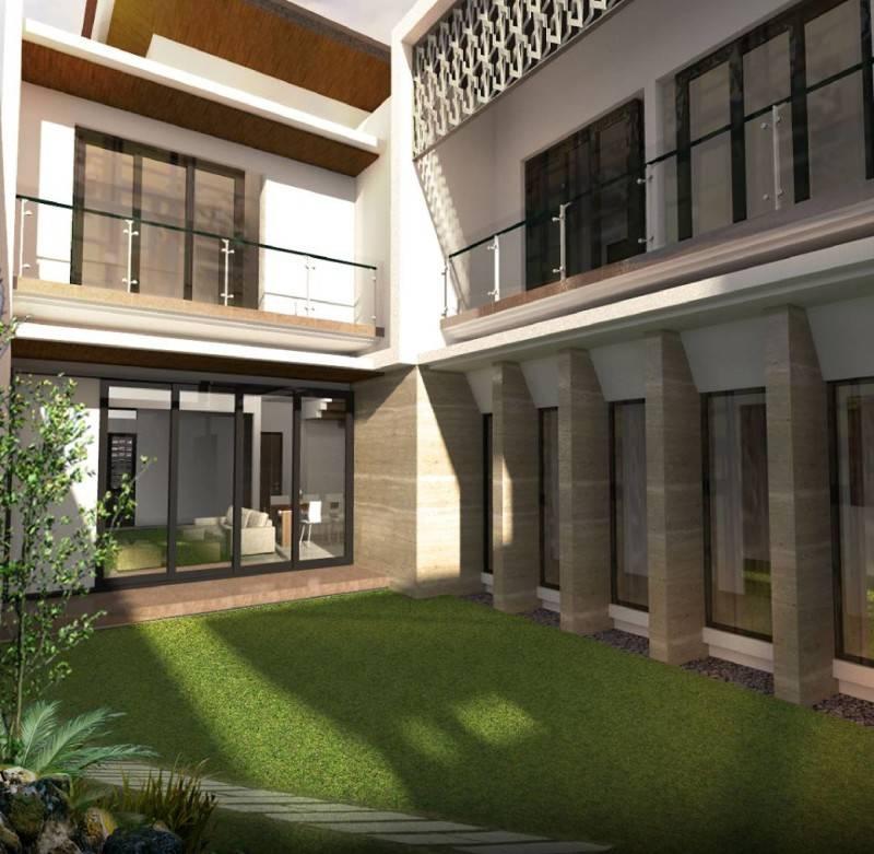 Phidias Indonesia Gura-Gura House Duren Tiga, South Jakarta Duren Tiga, South Jakarta Courtyard Modern 2440