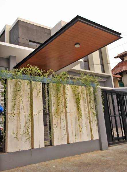 Phidias Indonesia Gura-Gura House Duren Tiga, South Jakarta Duren Tiga, South Jakarta Exterior Wall Modern 2442