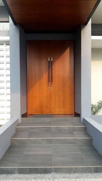 Phidias Indonesia Gura-Gura House Duren Tiga, South Jakarta Duren Tiga, South Jakarta Front Door Modern 2452