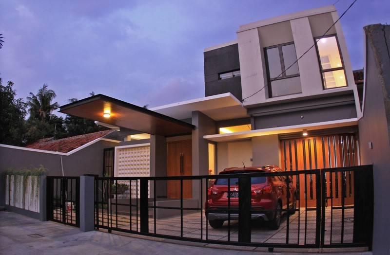 Phidias Indonesia Gura-Gura House Duren Tiga, South Jakarta Duren Tiga, South Jakarta Facade Modern 2454