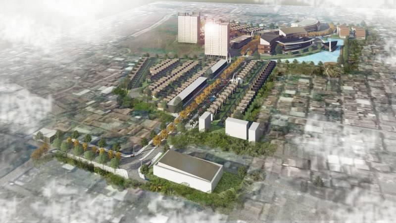 Alien Design Consultant Seroja Residential Development Bekasi Bekasi Bird Eye View Modern 7069
