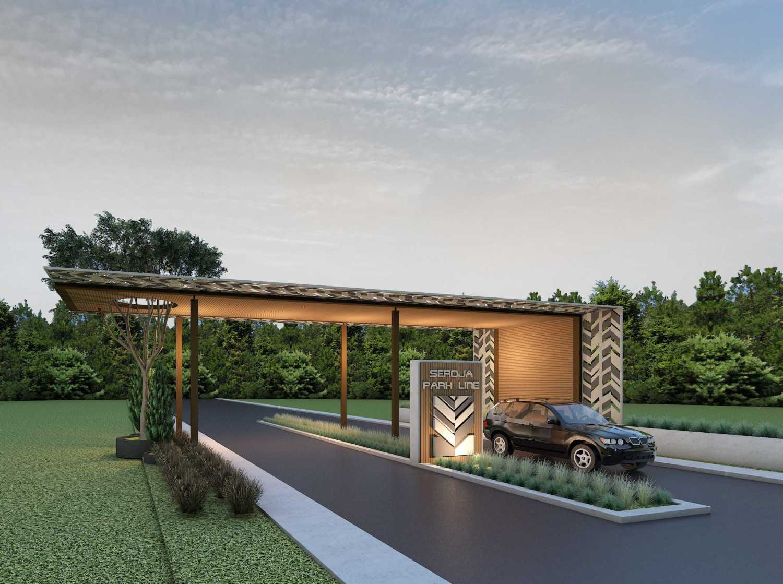 Alien Design Consultant Seroja Residential Development Bekasi Bekasi Main Gate Modern 8368