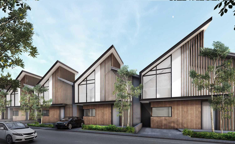 Foto inspirasi ide desain exterior skandinavia Exterior view oleh ALIEN Design Consultant di Arsitag