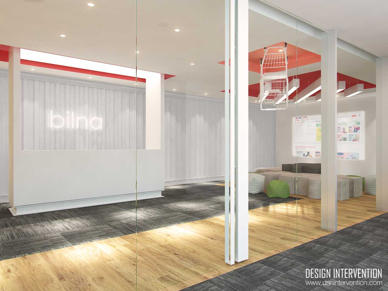 Design Intervention B - Office Concept Bsd Office Park Bsd Office Park Lobby  13966