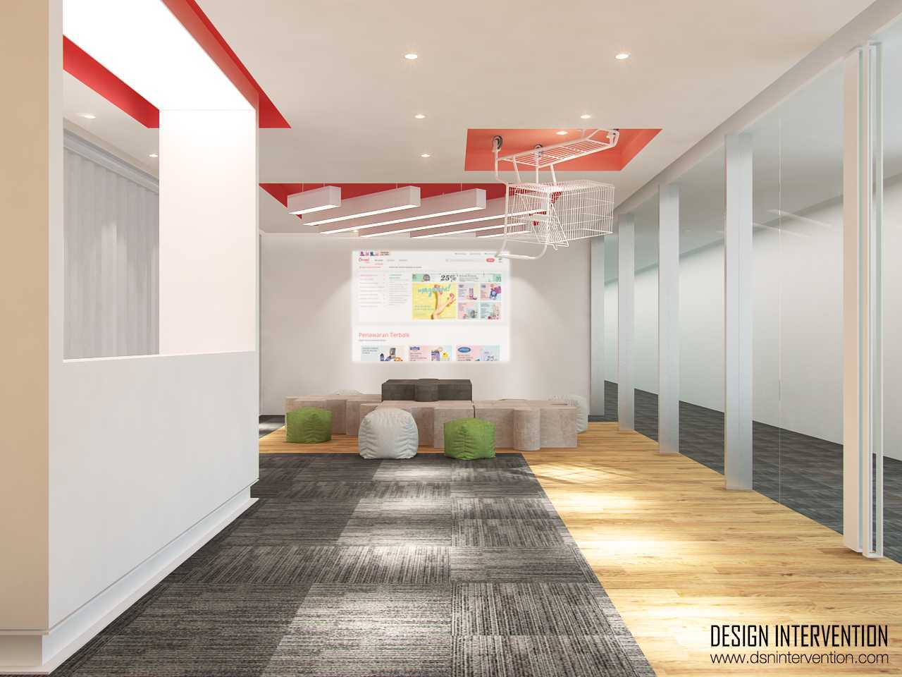 Design Intervention B - Office Concept Bsd Office Park Bsd Office Park Lobby  13967