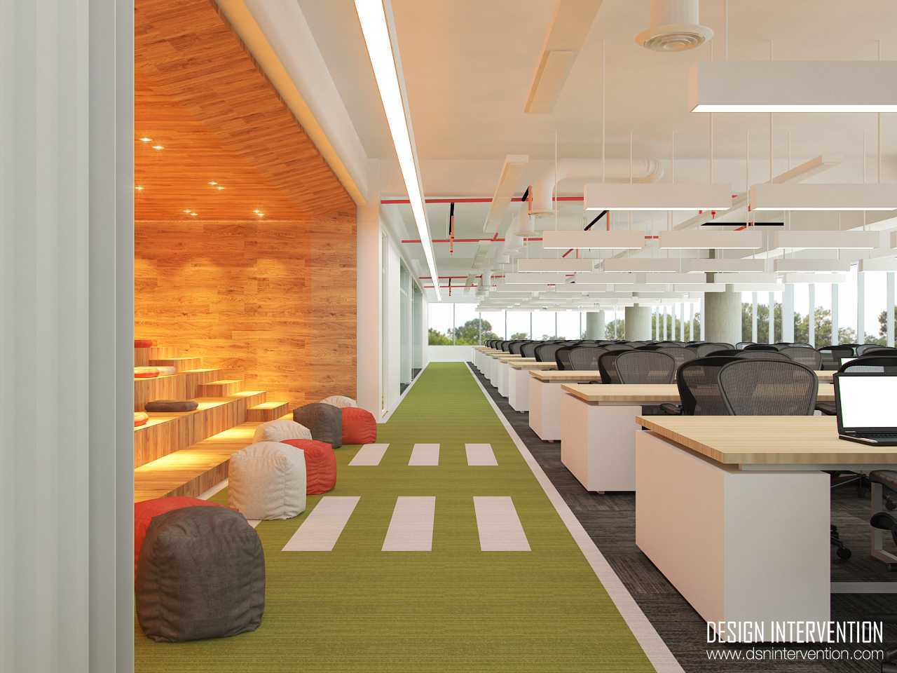 Design Intervention B - Office Concept Bsd Office Park Bsd Office Park Workspace  13969