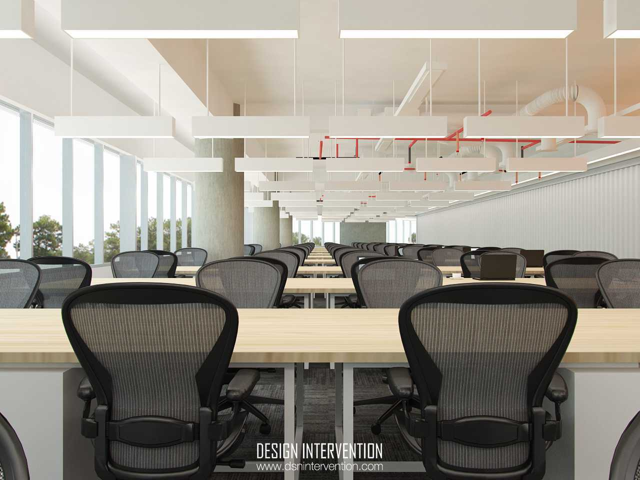Design Intervention B - Office Concept Bsd Office Park Bsd Office Park Workspace  13971