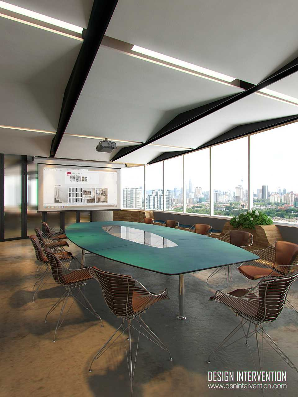 Design Intervention B - Office Concept Bsd Office Park Bsd Office Park Big-Meeting-View  13977