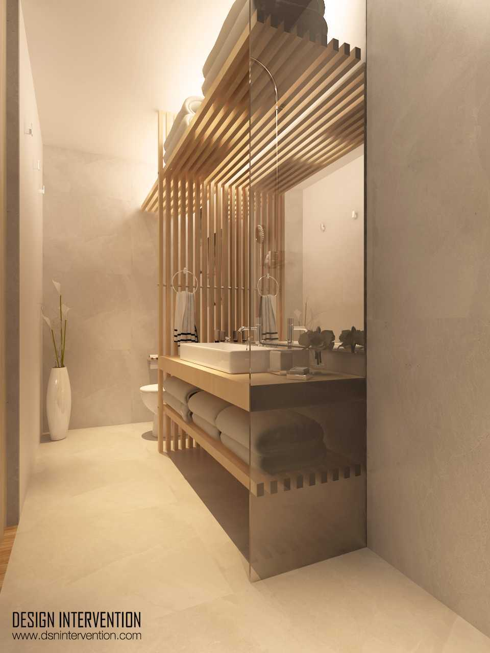 Design Intervention K House Kebayoran Kebayoran Bathroom  13989