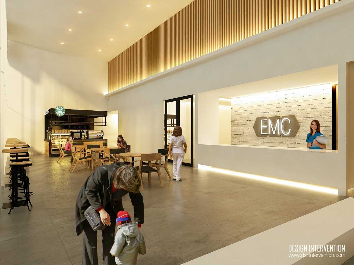 Design Intervention Emc Clinic Cianjur Cianjur Reception Area  13993