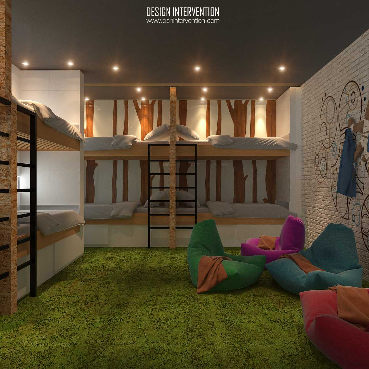Design Intervention B Hostel Bali Bali Bunk-View  14025