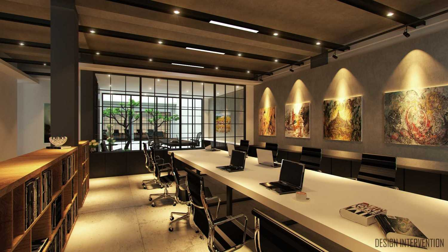 Design Intervention Wh Office Wahid Hasyim, Jakarta Wahid Hasyim, Jakarta Finance-Working-Area-View  14061