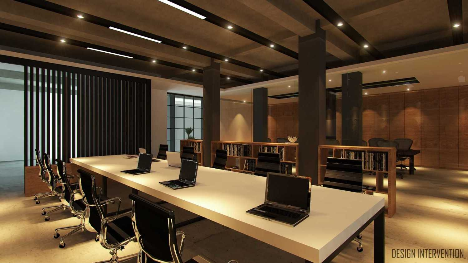 Design Intervention Wh Office Wahid Hasyim, Jakarta Wahid Hasyim, Jakarta Finance-Working-Area-View  14062