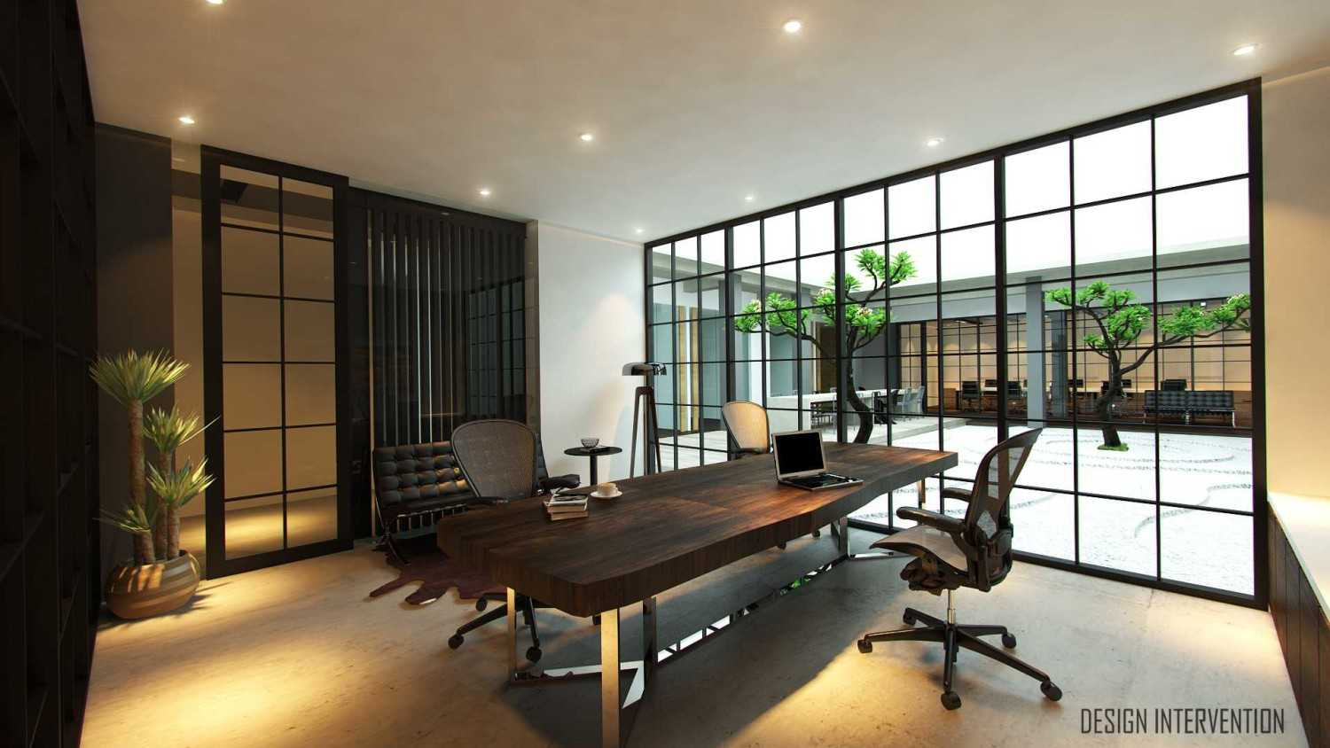 Design Intervention Wh Office Wahid Hasyim, Jakarta Wahid Hasyim, Jakarta Ceo-Room-View  14068