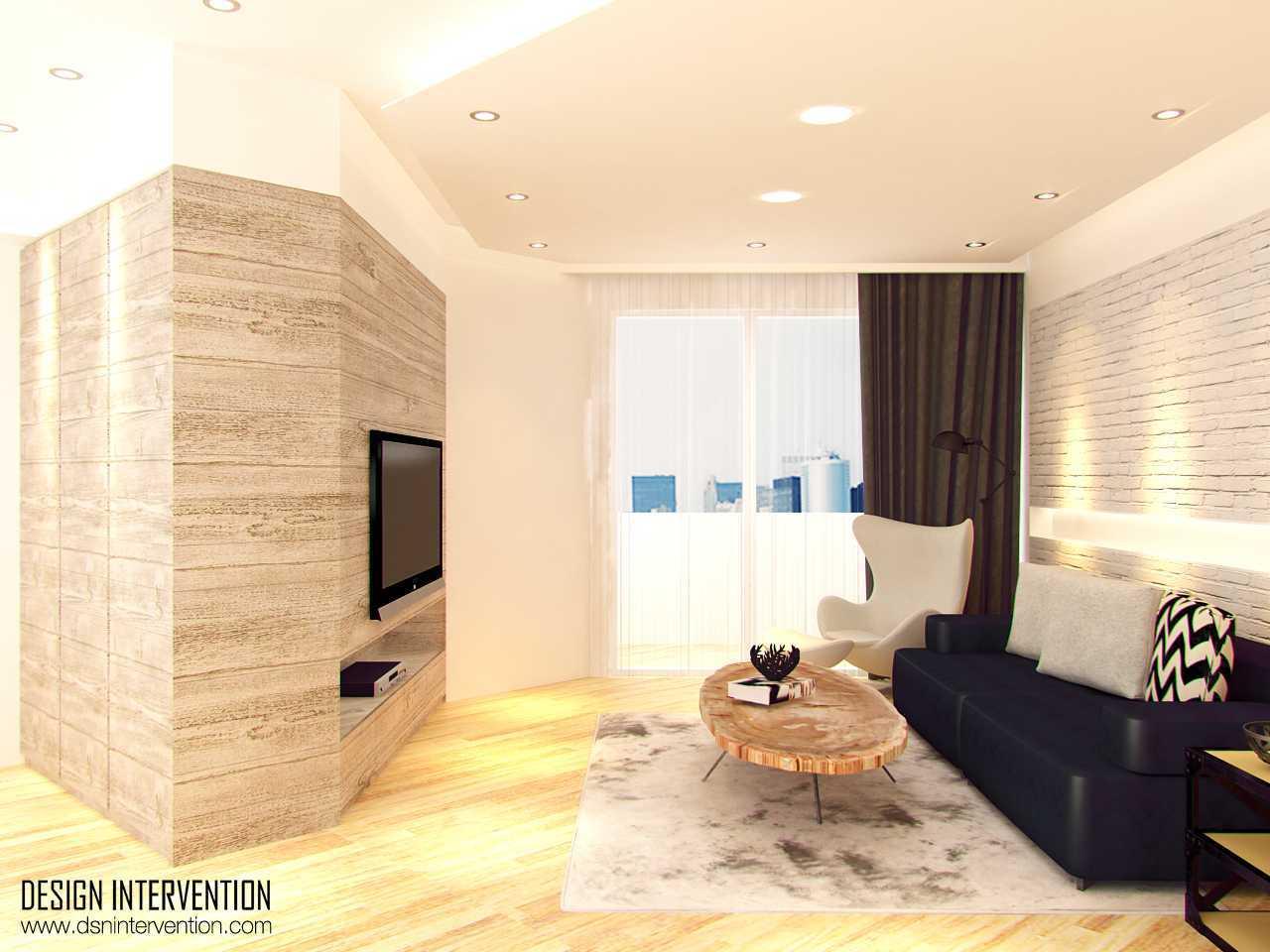 Foto inspirasi ide desain ruang keluarga skandinavia Livingroom oleh DESIGN INTERVENTION di Arsitag