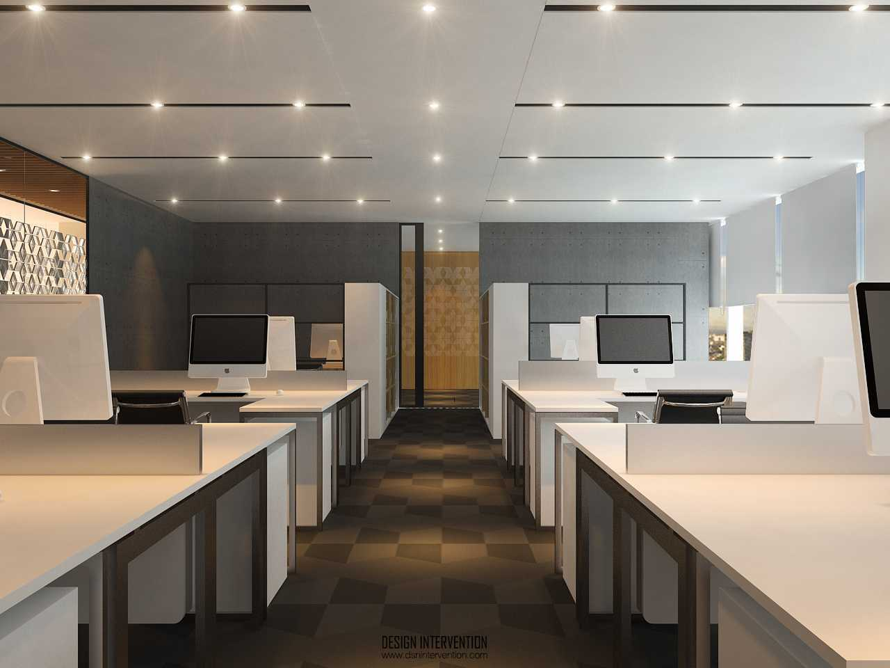 Design Intervention Mitsubishi Hq Office Tebet Tebet General-Working-Area-View  14979