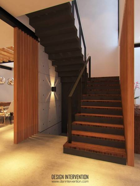Design Intervention Taman Ratu House Jakarta Jakarta Stair View Kontemporer 2544