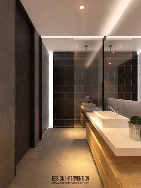 Design Intervention Taman Ratu House Jakarta Jakarta Bathroom-Fl-2 Kontemporer 2555