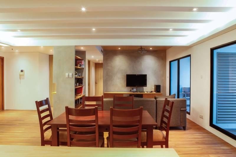 Design Intervention Pavilion Apartment At Kh Mas Mansyur Jakarta Jakarta Dining Room Minimalis,modern,industrial,glass 2583