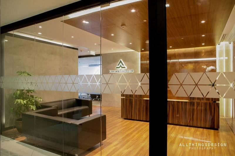 Design Intervention Antam Niterra Haltim Office At Dbs Tower Kuningan Jakarta, Indonesia Jakarta, Indonesia Lobby Minimalis,modern,glass 2601