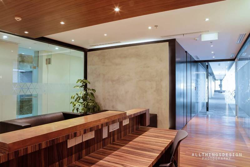 Design Intervention Antam Niterra Haltim Office At Dbs Tower Kuningan Jakarta, Indonesia Jakarta, Indonesia Reception Area Minimalis,modern,glass 2604
