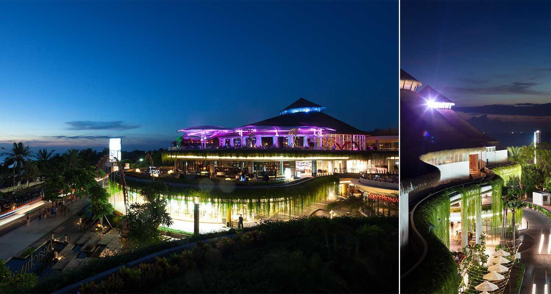 Foto inspirasi ide desain exterior tropis Night view oleh Enviro Tec di Arsitag