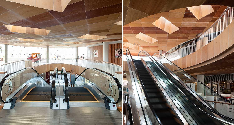 Foto inspirasi ide desain tangga tropis Escalator oleh Enviro Tec di Arsitag