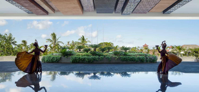 Foto inspirasi ide desain lobby Lobby view hotel oleh Enviro Tec di Arsitag