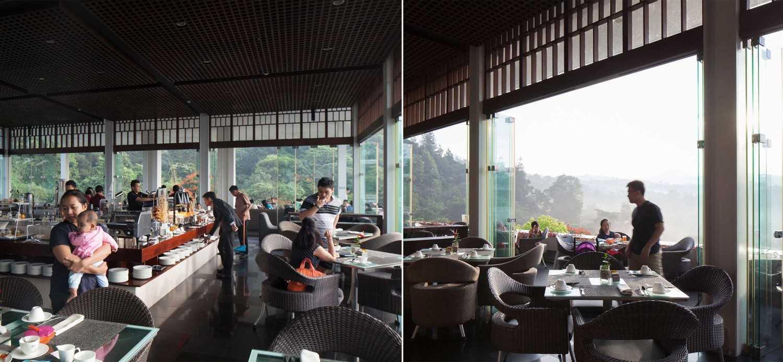 Enviro Tec Padma Hotel Bandung Bandung Bandung Breakfast Area Modern 14687
