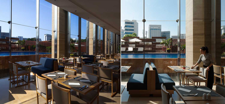 Enviro Tec Fraser Residence Menteng Jakarta Jakarta Restaurant Area Modern 14706
