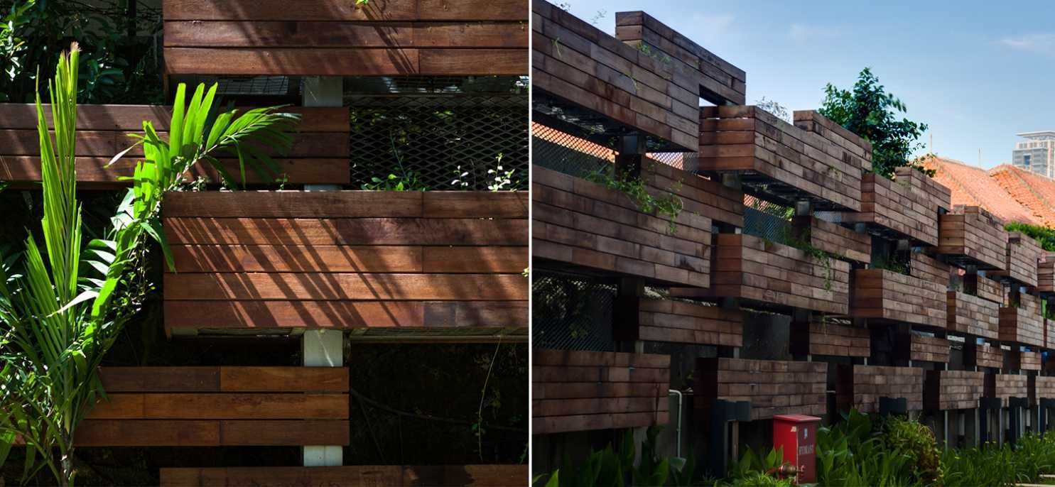 Enviro Tec Fraser Residence Menteng Jakarta Jakarta Exterior Details Modern 14707