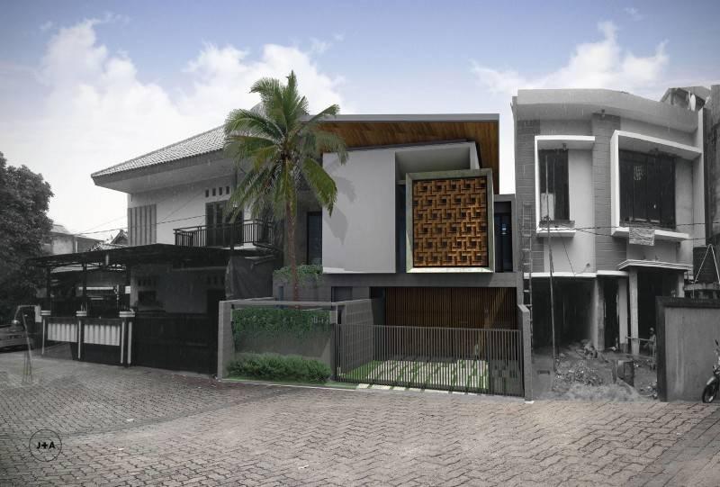 J+A Design Abu Saman House At Bangka Gg. H. Abu Saman I, Pela Mampang, Mampang Prpt., Kota Jakarta Selatan, Dki Jakarta 12720, Indonesia Jakarta Render 3D Image 2014 Kontemporer 2633