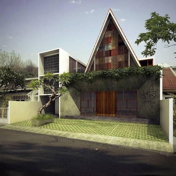 J+A Design Gkps Pamulang Pamulang Pamulang Facade  2636