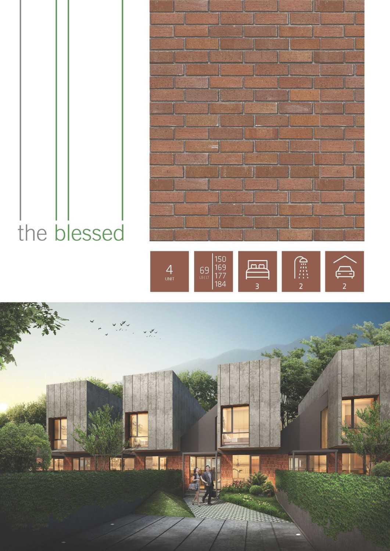 J+A Design The Blessed Houses Bintaro, Tangerang Selatan Bintaro, Tangerang Selatan E-Brochure-The-Blessedpage1 Tropis,minimalis,industrial,modern,kontemporer 26199