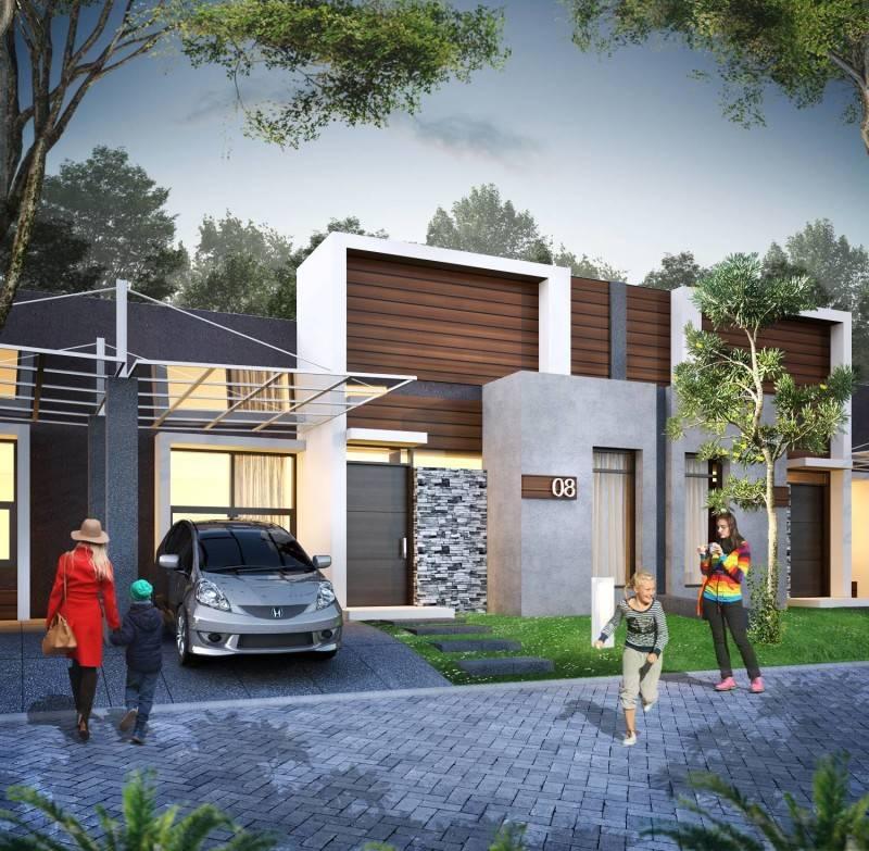 Small Space Interior Wisma Asri Cibening Residence Bandung, Indonesia Bandung, Indonesia Facade-View Minimalis 6442