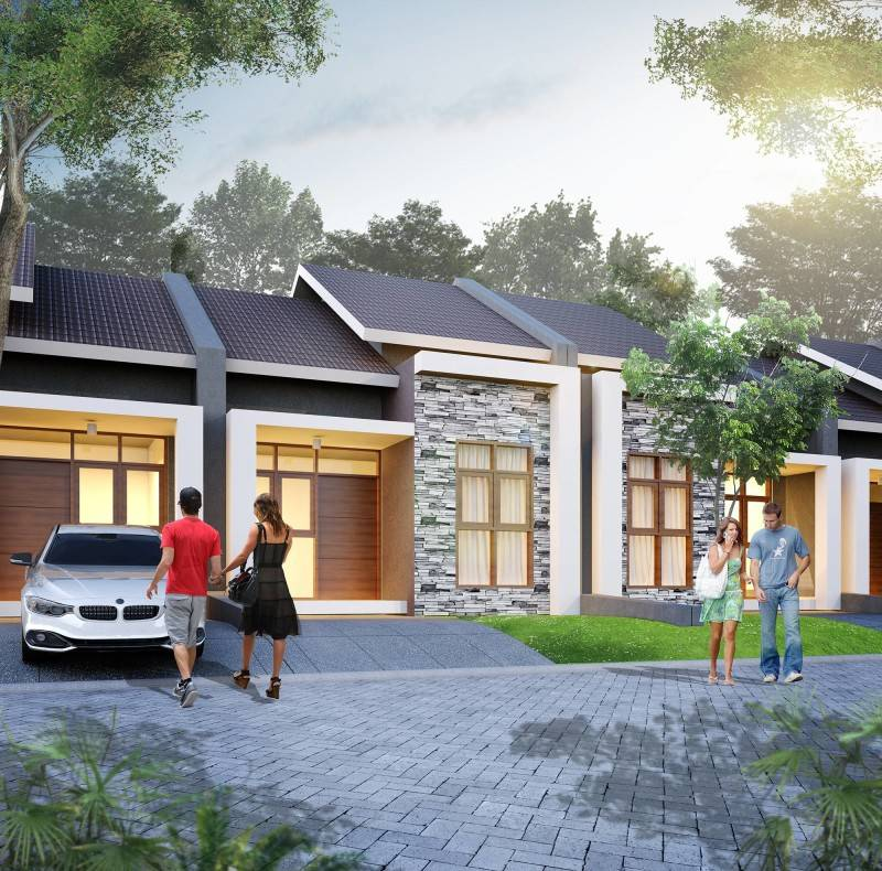 Small Space Interior Wisma Asri Cibening Residence Bandung, Indonesia Bandung, Indonesia Small-Tropical-House-1 Minimalis 6443
