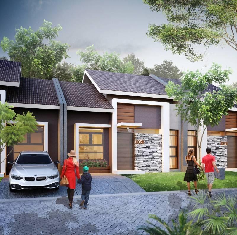 Small Space Interior Wisma Asri Cibening Residence Bandung, Indonesia Bandung, Indonesia Small-Tropical-House-2 Minimalis 6444